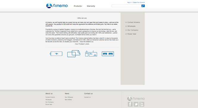 Amemo Technology Co.,Ltd